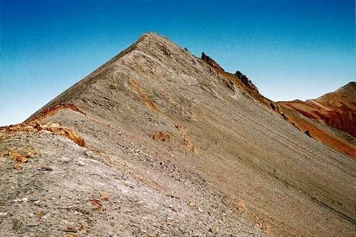 This is the south ridge of...