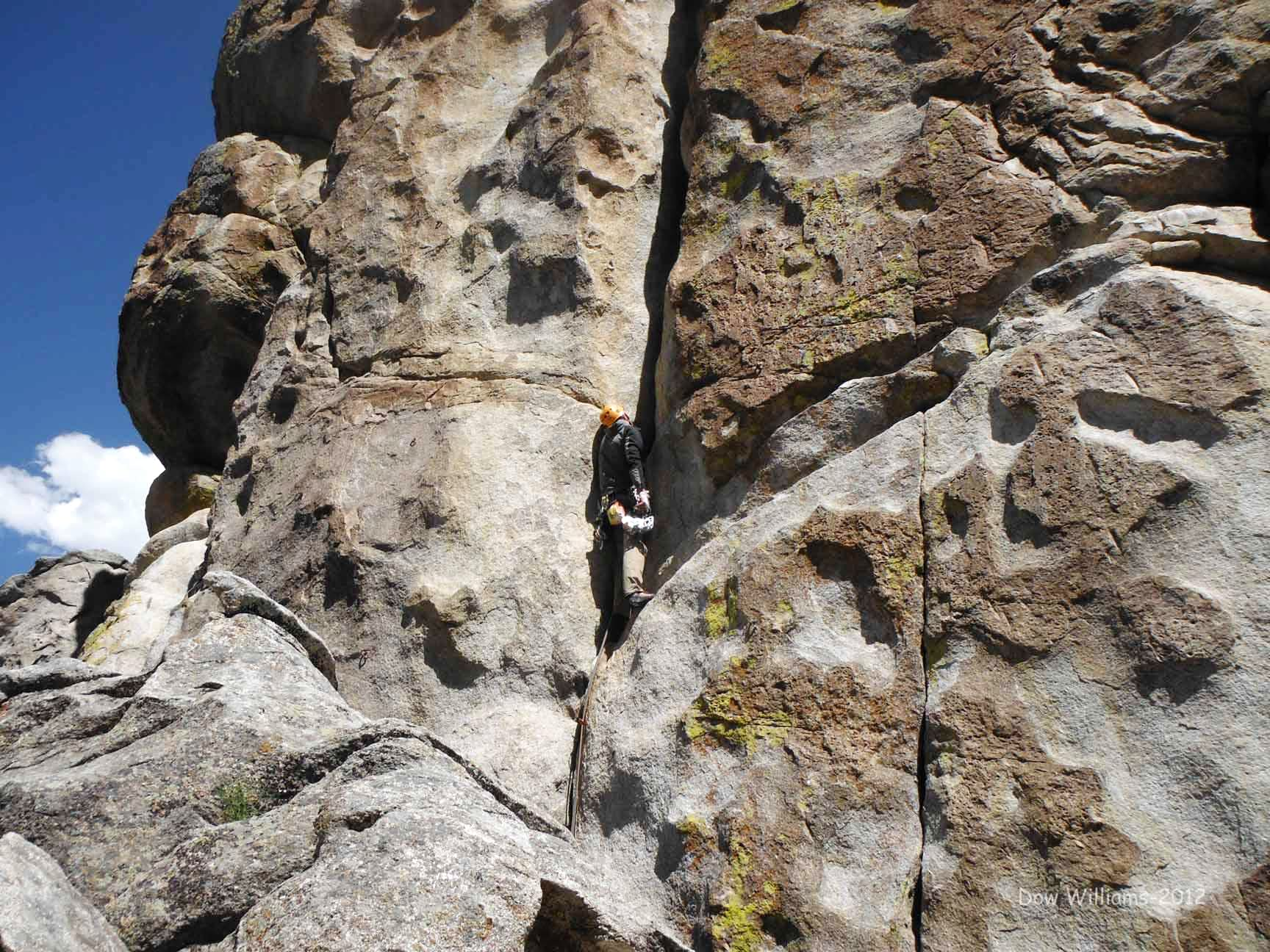 BLM Rock, West Corridor, 5.9-5.11b