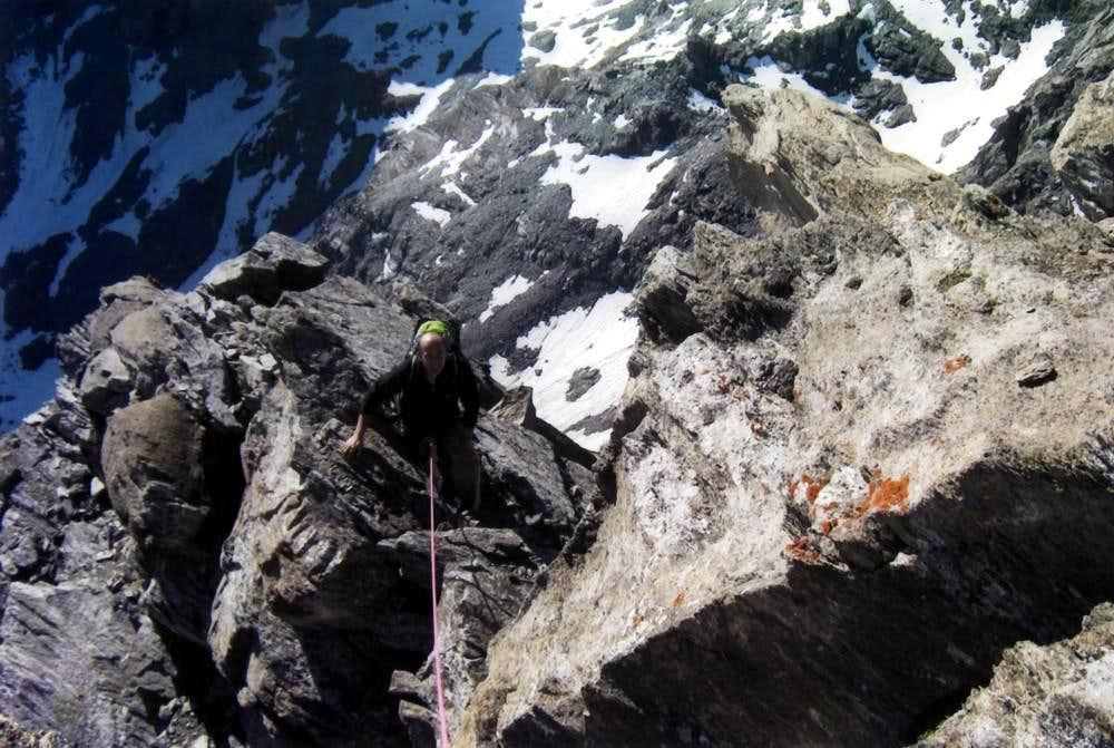 PUNTA TERSIVA on E-NE Ridge