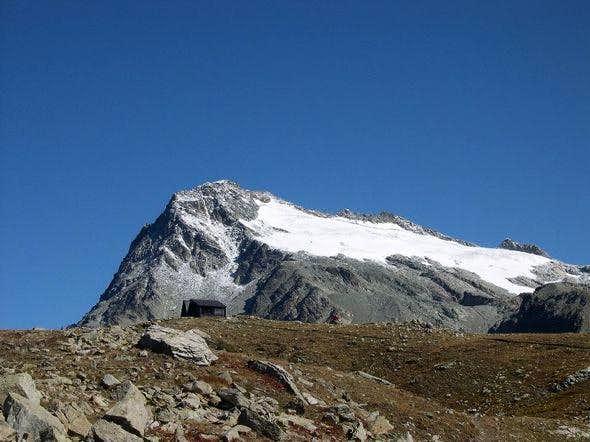 il Mont Gele' dal bivacco...