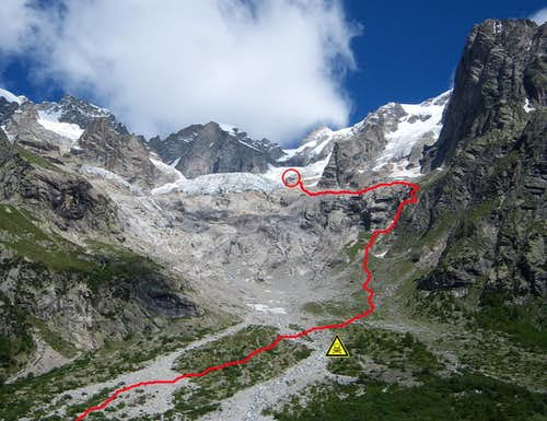 The route from Lavachey
