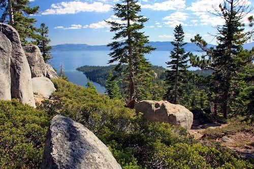 Lake Tahoe from the Maggies Peaks Trail