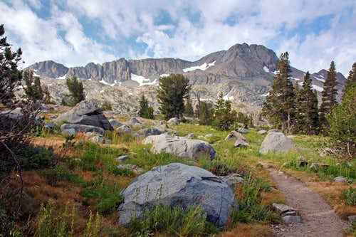 Round Top from the trail to Lake Winnemucca