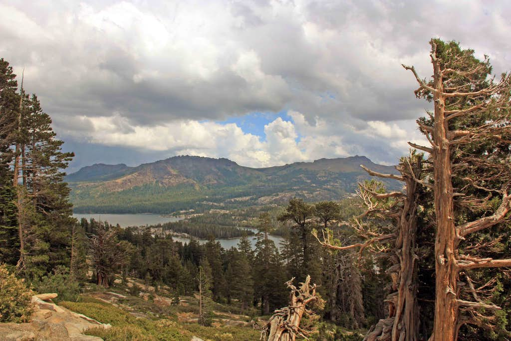 Over Silver Lake to Thunder Mtn. and Thimble Peak