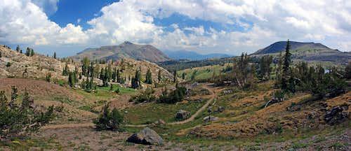 Red Lake Peak and Elephants Back