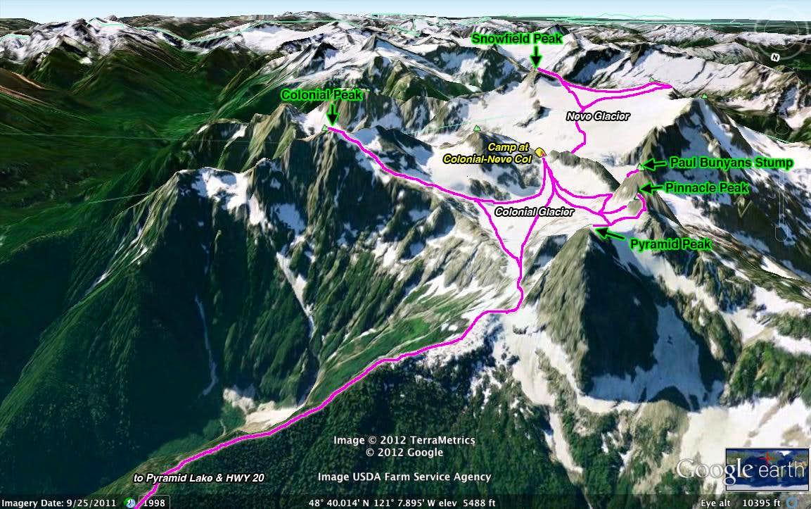 Map Of Snowfield Slam Snowfield Pyramid Pinnacle Paul Bunyans - Paul bunyun in us map