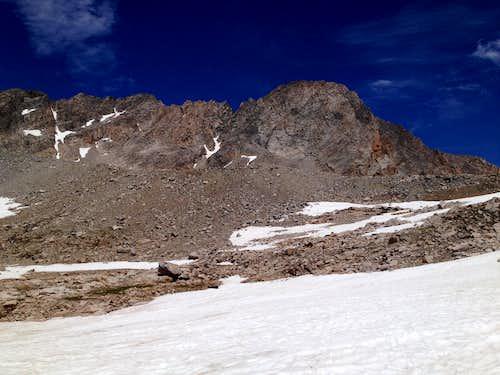 Getting a Good Dose of Luck on Granite Peak