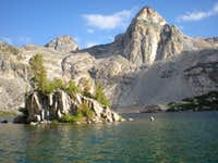 Rae Lakes before Glen Pass