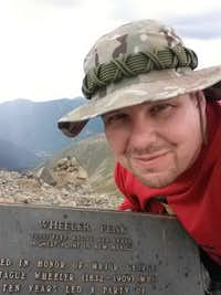 Me at the Summit Marker