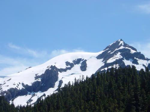 The Snow Dome and Panic Peak