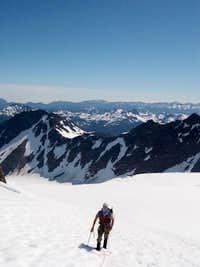 Traversing the Blue Glacier