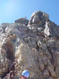 Mount Olympus summit block - north face