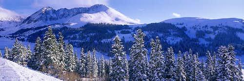 Mount Arkansas from Fremont...