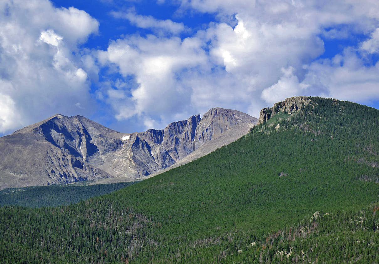 July in the Colorado Rockies (Longs, Holy Cross and RMNP)