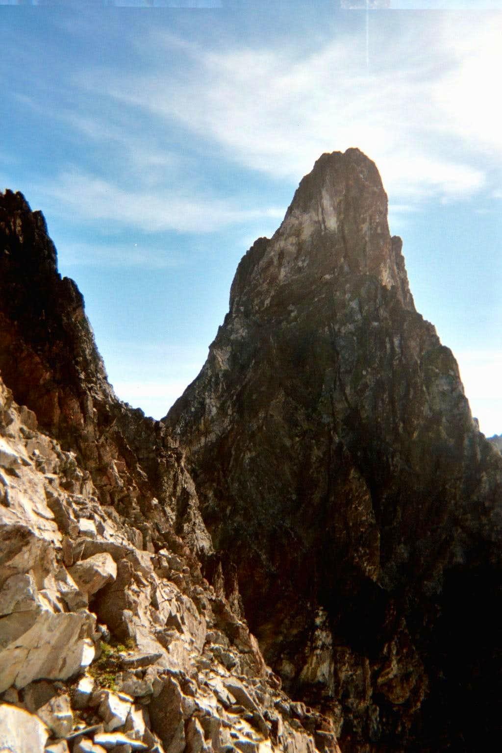 SE Mox fr the Ridge of Gendarmes