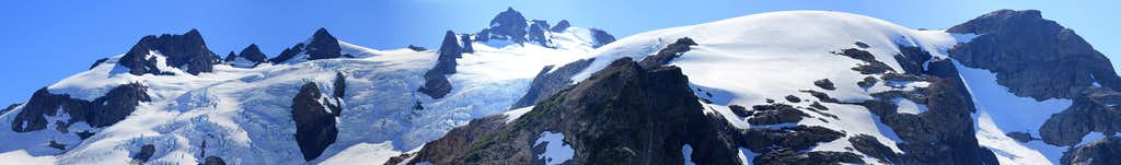 Mount Olympus in panorama
