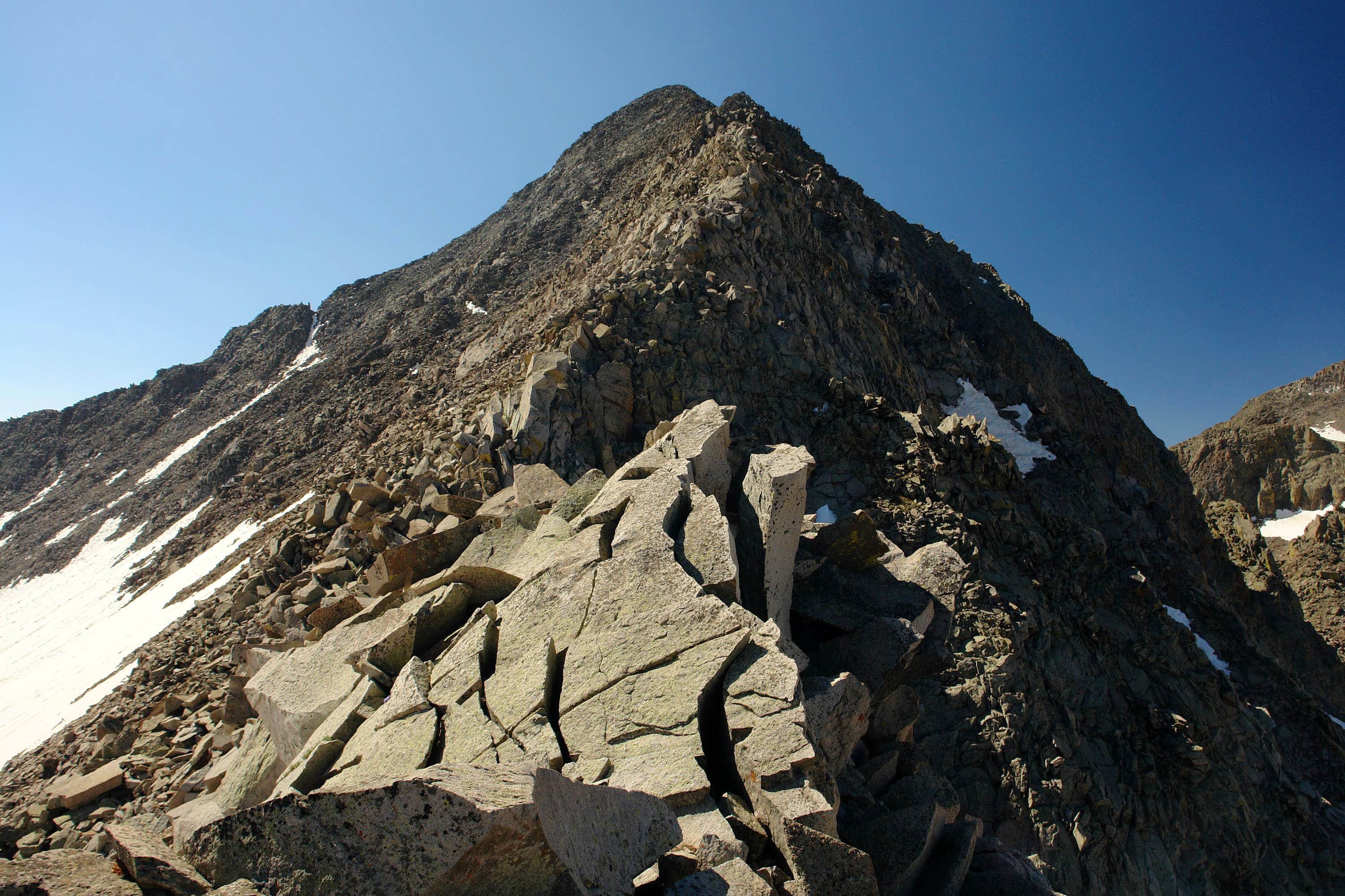 Gladstone Peak via North Ridge