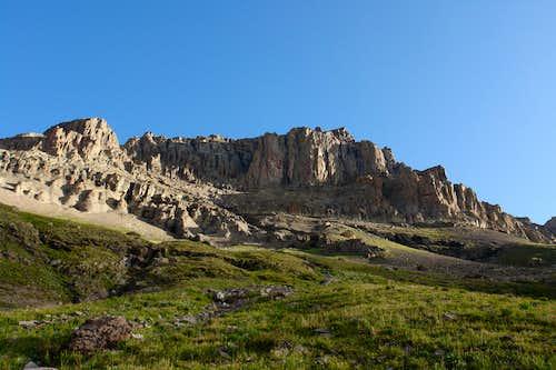 Dallas Peak from Mill Creek
