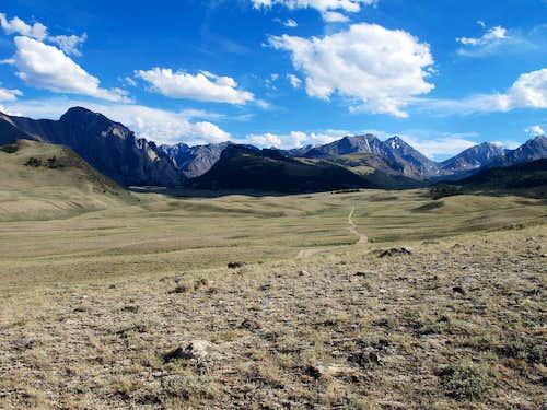 The Pahsimeroi Valley
