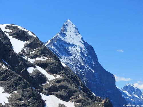Lauper Route and Mittelegiridge (Eiger)