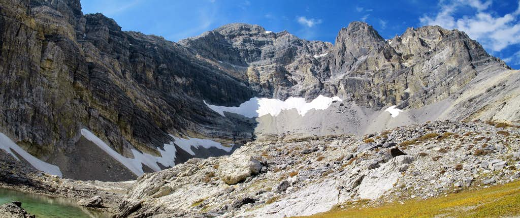 Mt Borah's East Face Cirque - Pan
