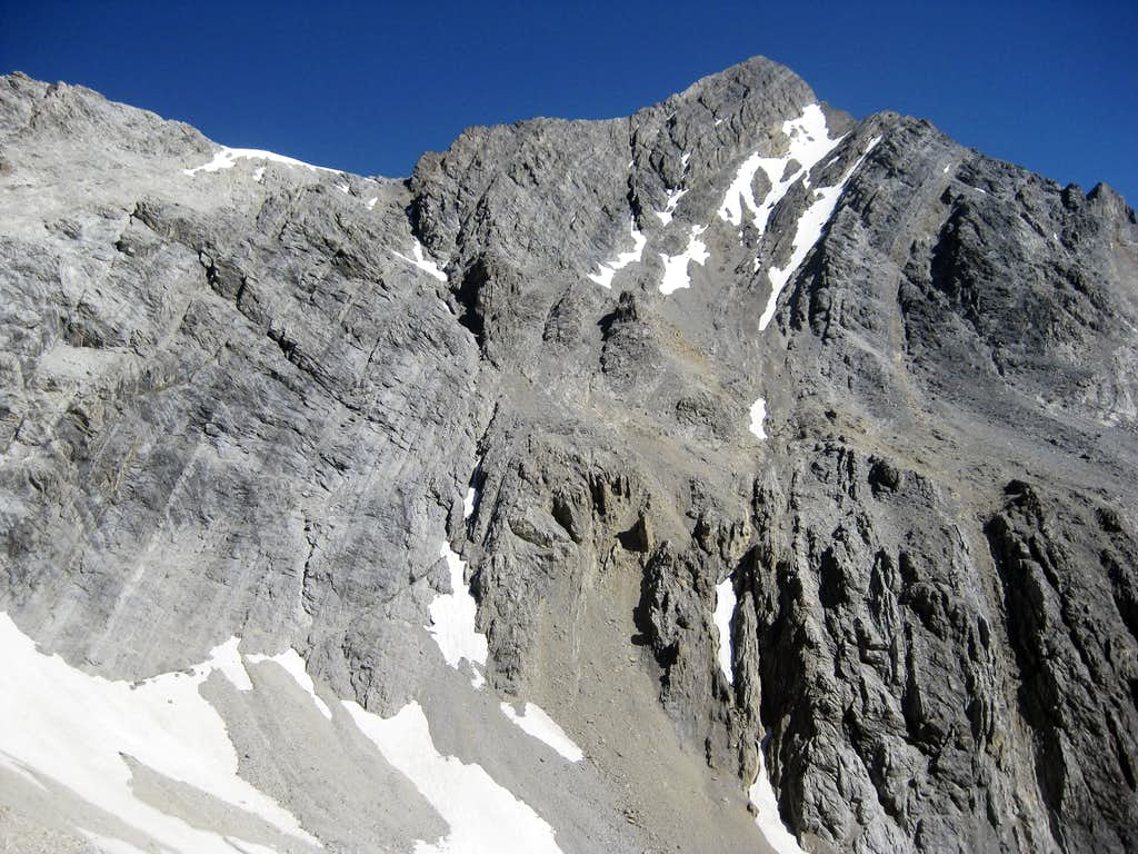 Mt Borah's South Face