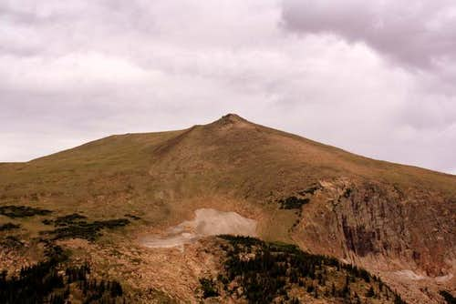 Sundance Mountain from Trail Ridge Road