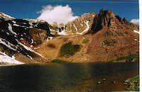 East Ridge of Cathedral Peak...