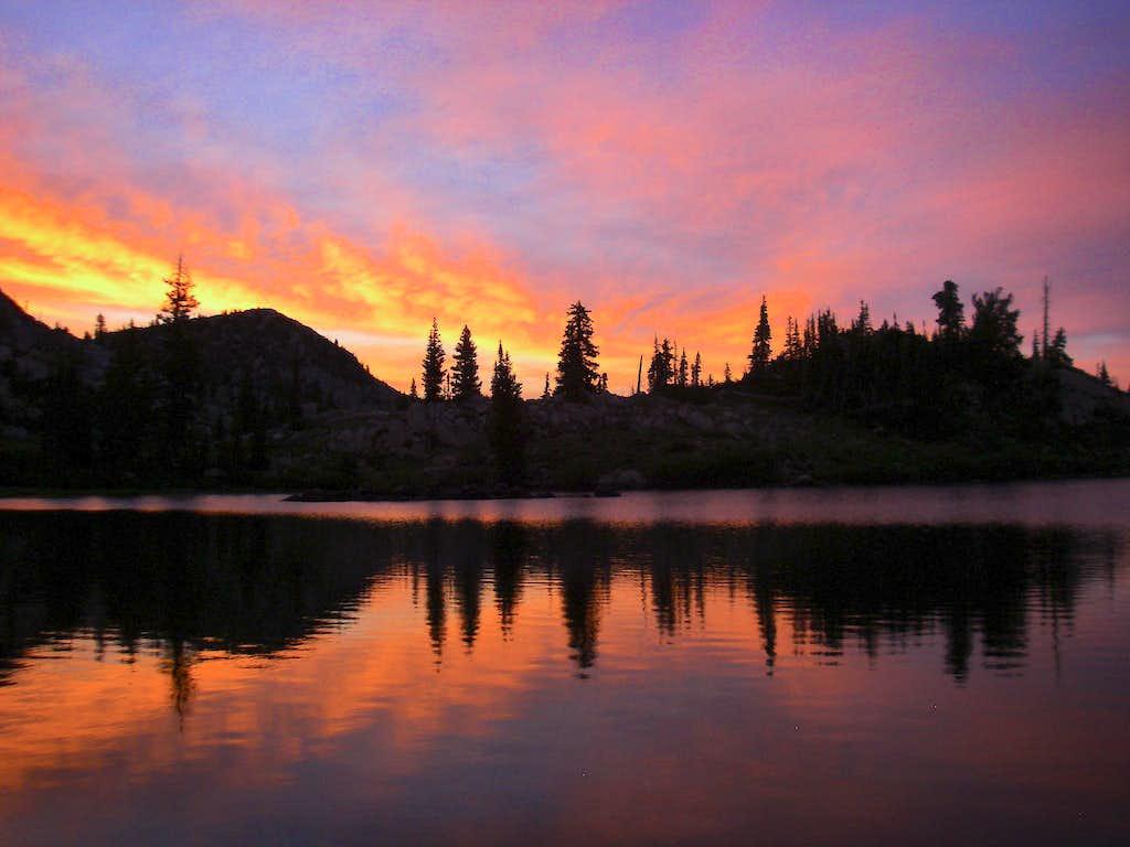 Sunset on Lake Katherine