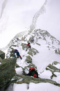 SW ridge Allalinhorn