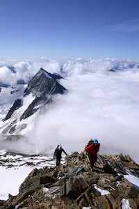 View from Weissmies S ridge