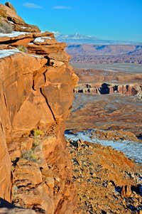 Canyonlands seen from Island In The Sky