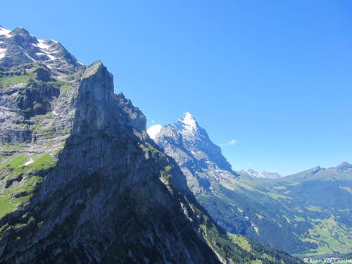 Mönch, Eiger