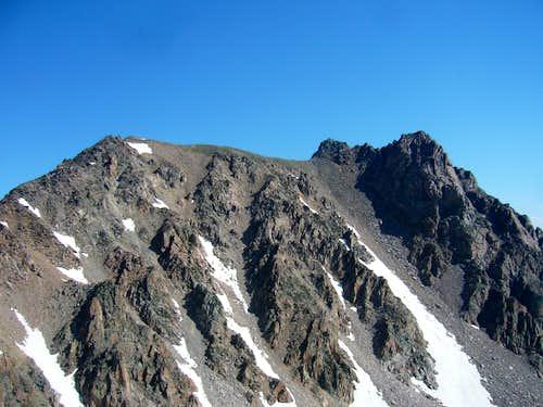 Imp Peak from ridge