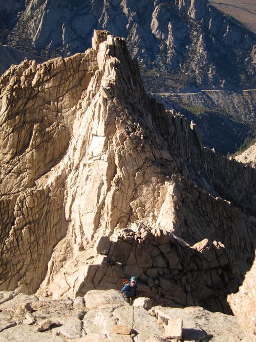 The Awesome North Ridge of Lone Pine Peak