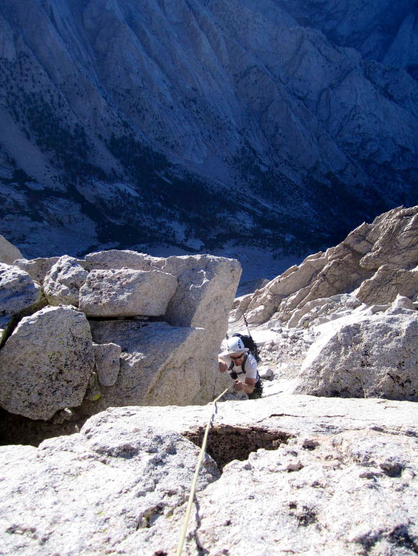 Me, Just a Few Feet Below the Summit