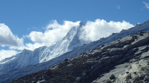 Huandoy from Huascaran Base Camp