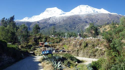 Huascaran from Mucho
