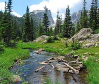 Dream Lake stream