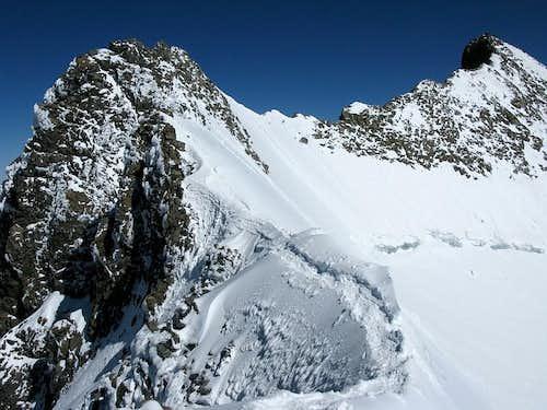 Spallagrat ridge