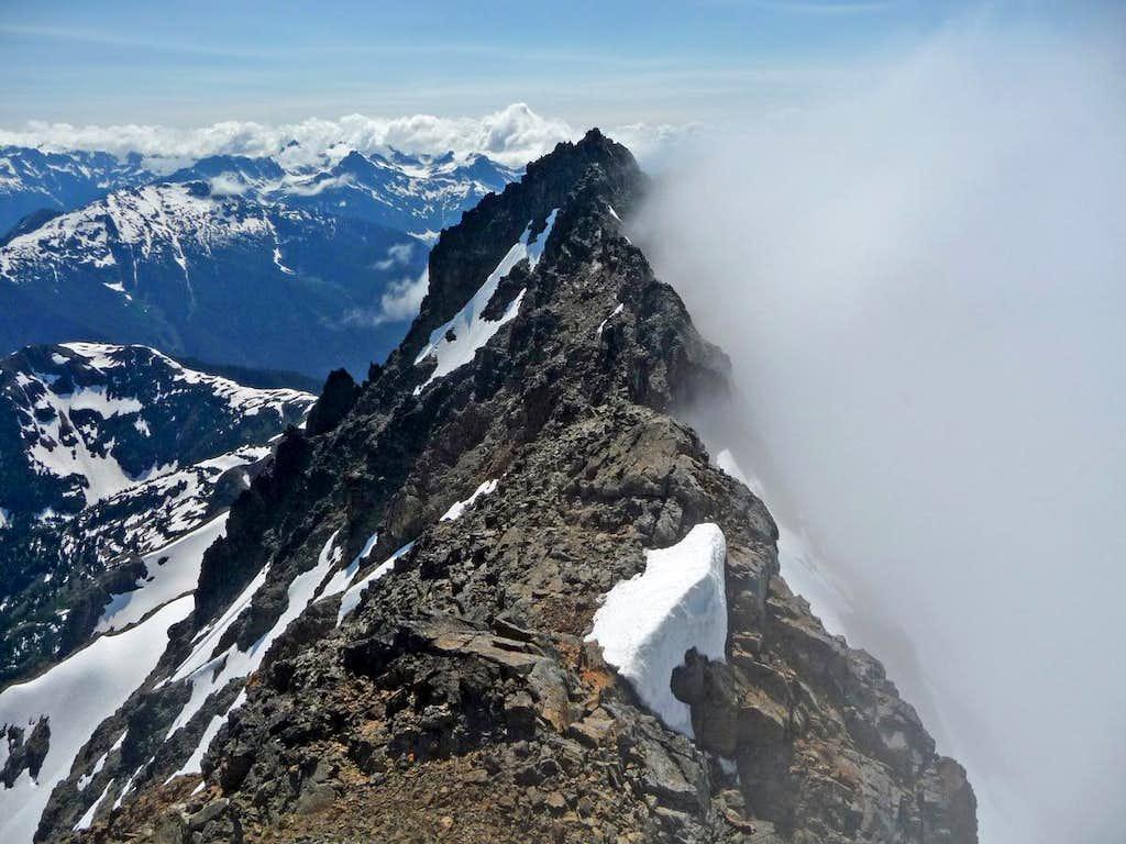 Jack Mountain's West Ridge