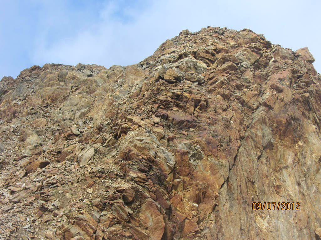 Botzer, first part of the SE ridge