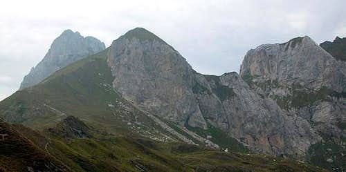 The Hochalpl east face in...