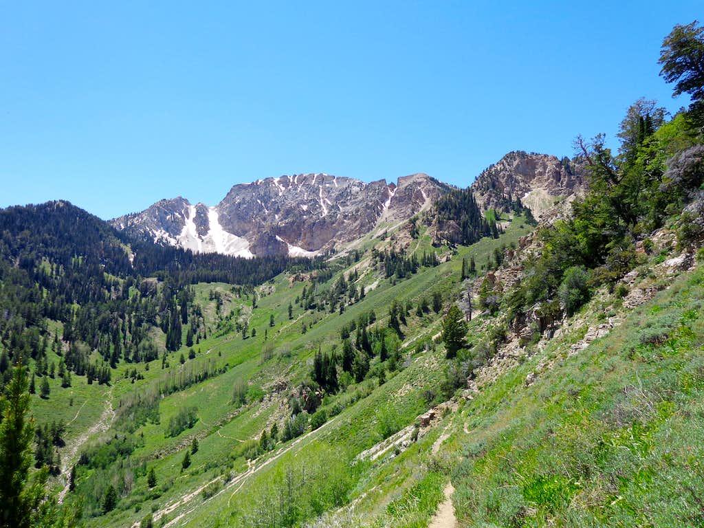 Deseret Peak in mid June