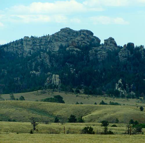 Hills east of Laramie