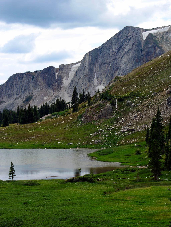 Un-named Snowy Range lake