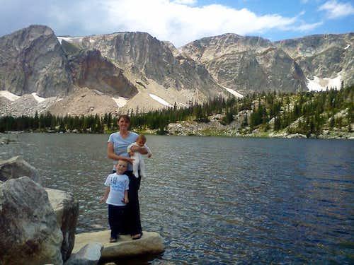 Mirror Lake family photo