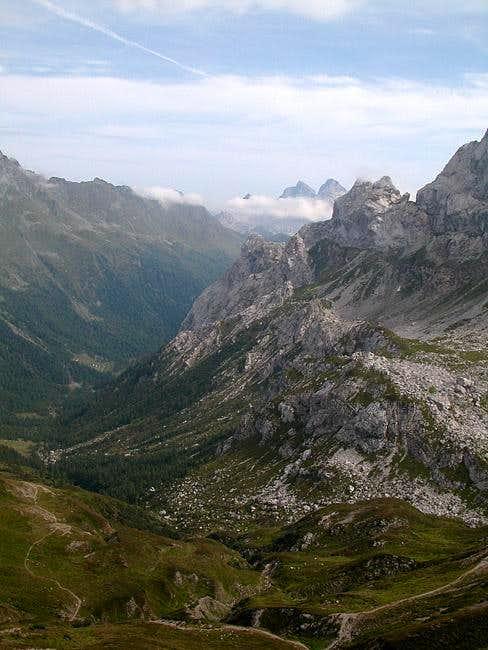 Summit View Hochalpl: Looking...