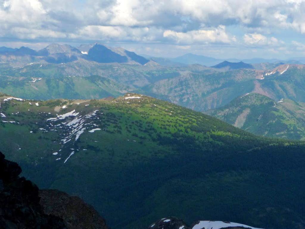 Green Scenery in the Pasayten Wilderness
