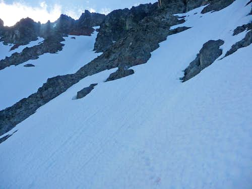 Traverse Section to the Other Snowfield